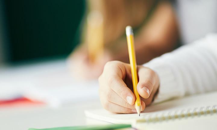 鉛筆の正しい持ち方講座
